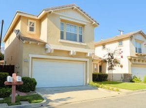 single family home in Gated complex in Duarte