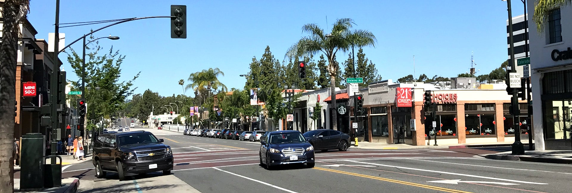 Colorado Blvd. Pasadena