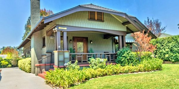 The Quintessential Pasadena Craftsman
